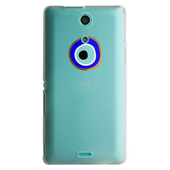Sony Zr Cases - Eye will protect you gold eye