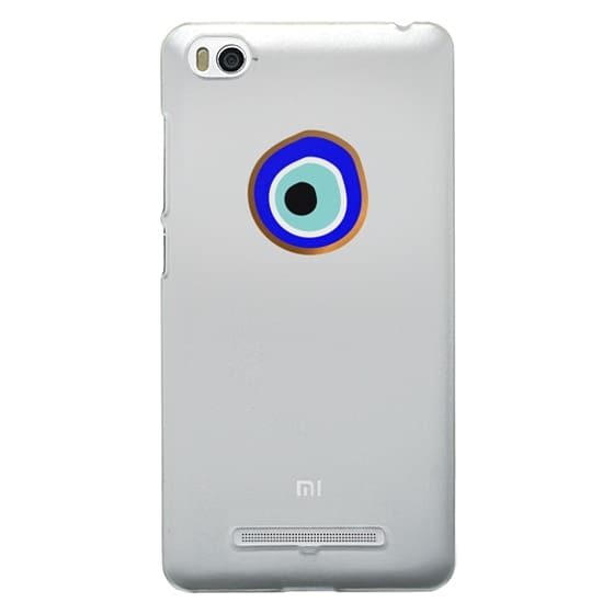Xiaomi 4i Cases - Eye will protect you gold eye