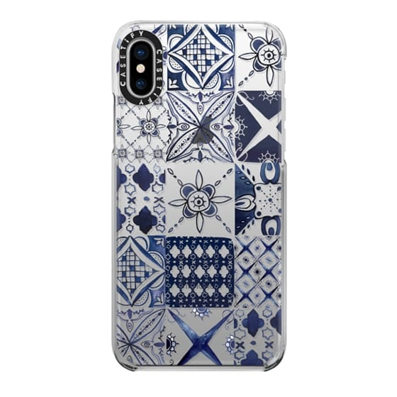 iPhone X Cases - Morrocan tile pattern inspiration