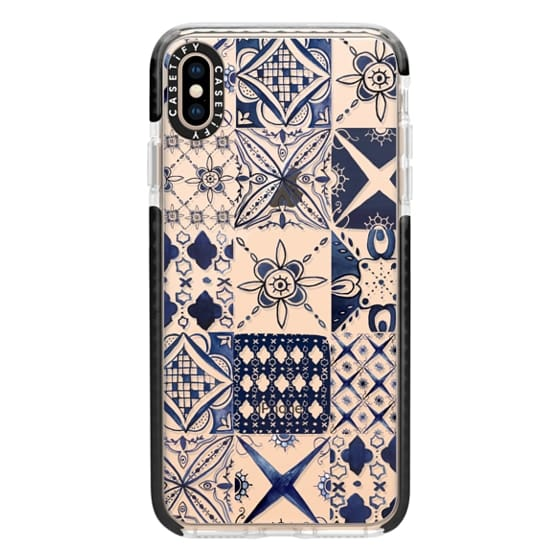 iPhone XS Max Cases - Morrocan tile pattern inspiration