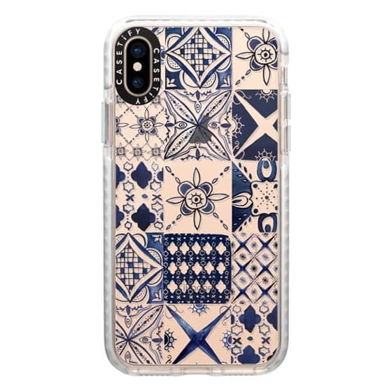 iPhone XS Cases - Morrocan tile pattern inspiration