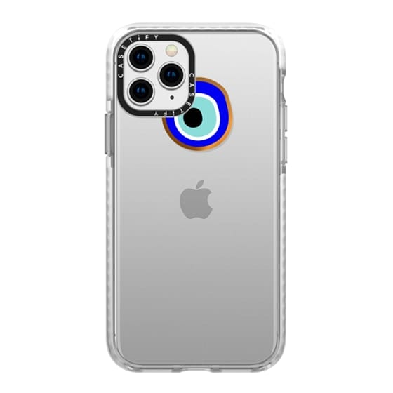 iPhone 11 Pro Cases - Eye will protect you gold eye
