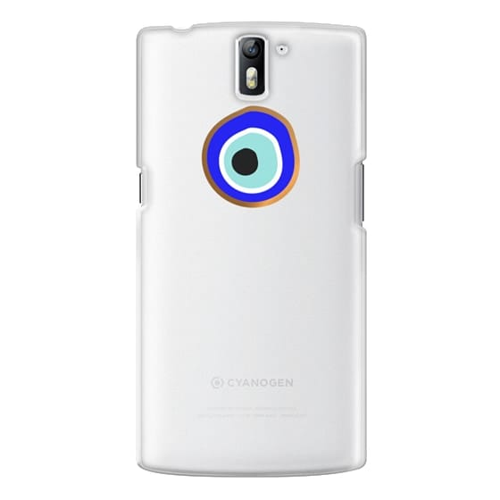One Plus One Cases - Eye will protect you gold eye