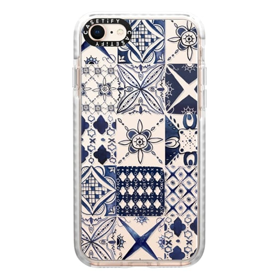 iPhone 8 Cases - Morrocan tile pattern inspiration