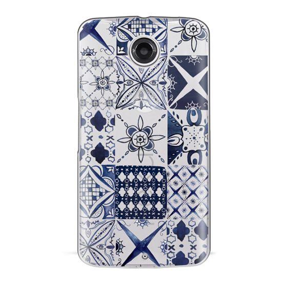 Nexus 6 Cases - Morrocan tile pattern inspiration