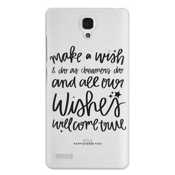 Redmi Note Cases - Wishes
