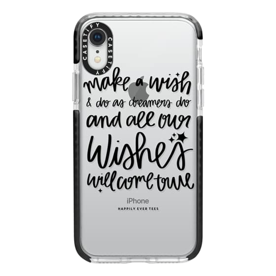 iPhone XR Cases - Wishes