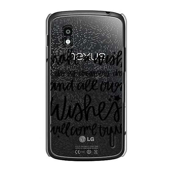 Nexus 4 Cases - Wishes