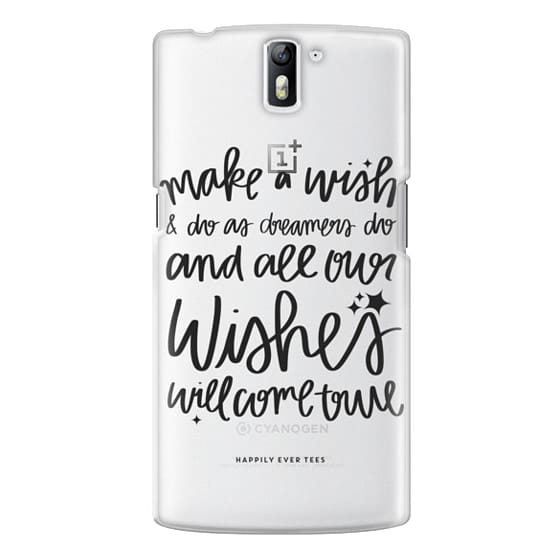 One Plus One Cases - Wishes