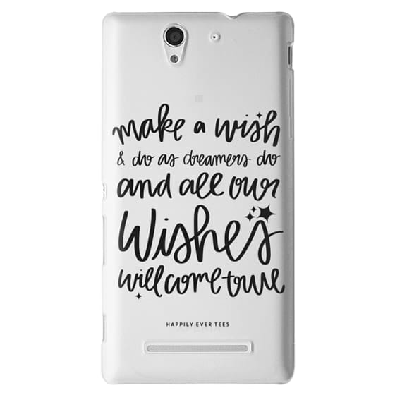 Sony C3 Cases - Wishes