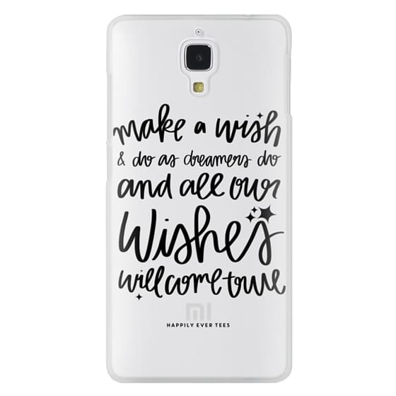 Xiaomi 4 Cases - Wishes