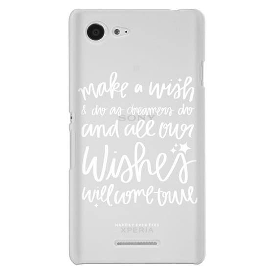 Sony E3 Cases - Wishes