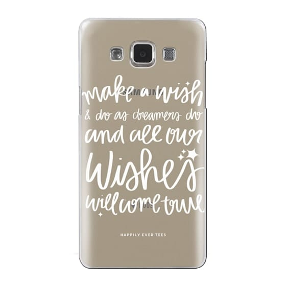 Samsung Galaxy A5 Cases - Wishes