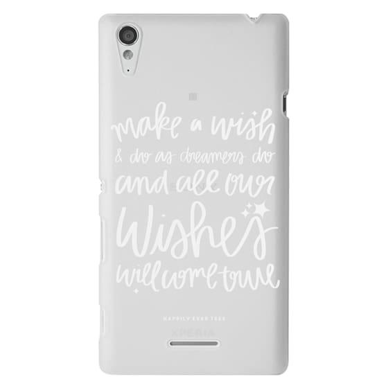 Sony T3 Cases - Wishes