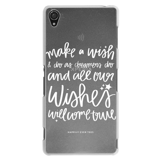Sony Z3 Cases - Wishes