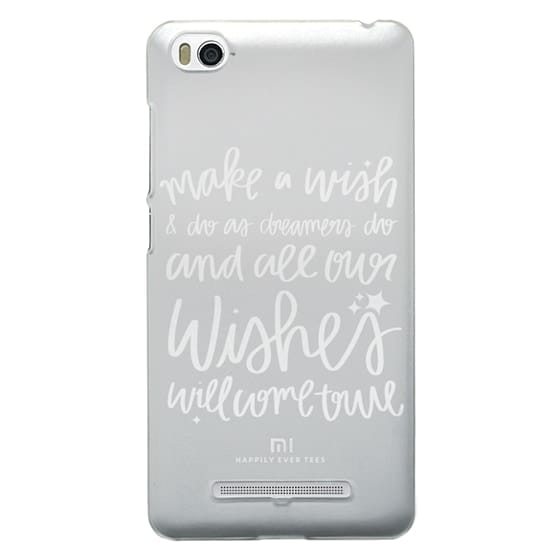 Xiaomi 4i Cases - Wishes