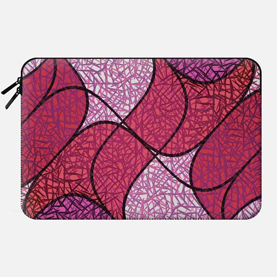 Pink needles - Macbook Sleeve