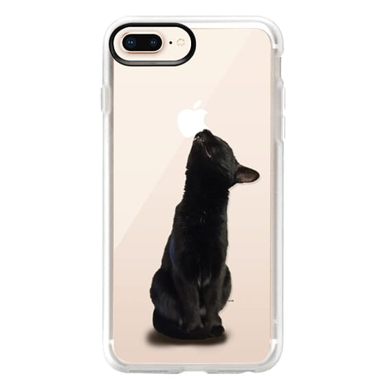 iPhone 8 Plus Cases - The sniffing cat