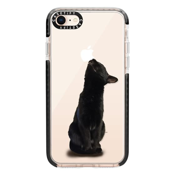 iPhone 8 Cases - The sniffing cat