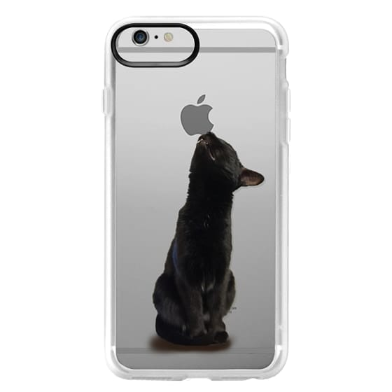 iPhone 6 Plus Cases - The sniffing cat