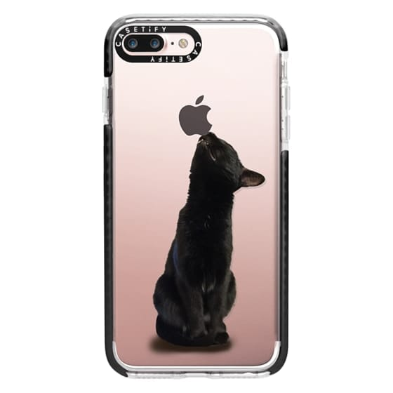 iPhone 7 Plus Cases - The sniffing cat