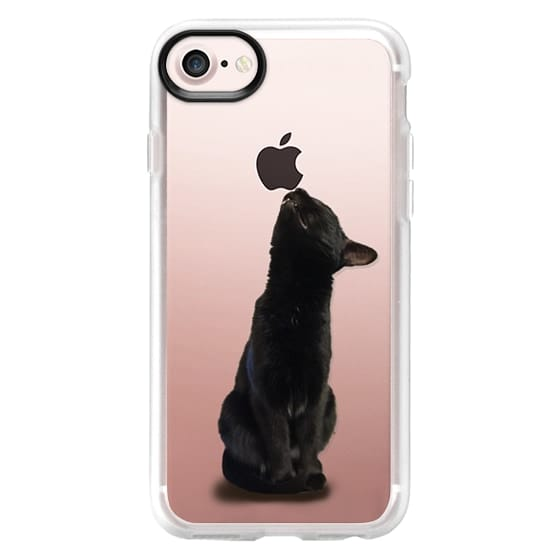 iPhone 7 Cases - The sniffing cat