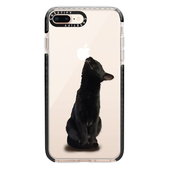 iPhone 8 Plus Cases - The sniffing cat