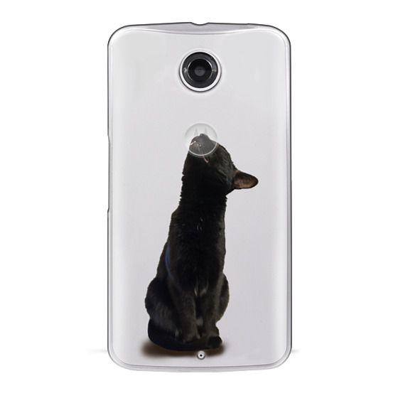 Nexus 6 Cases - The sniffing cat