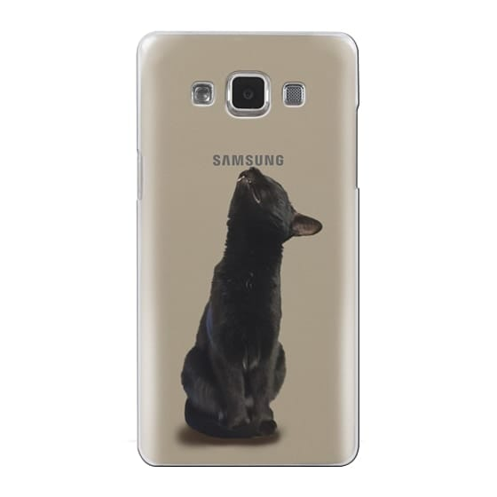 Samsung Galaxy A5 Cases - The sniffing cat