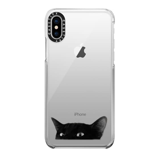 iPhone X Cases - Cat