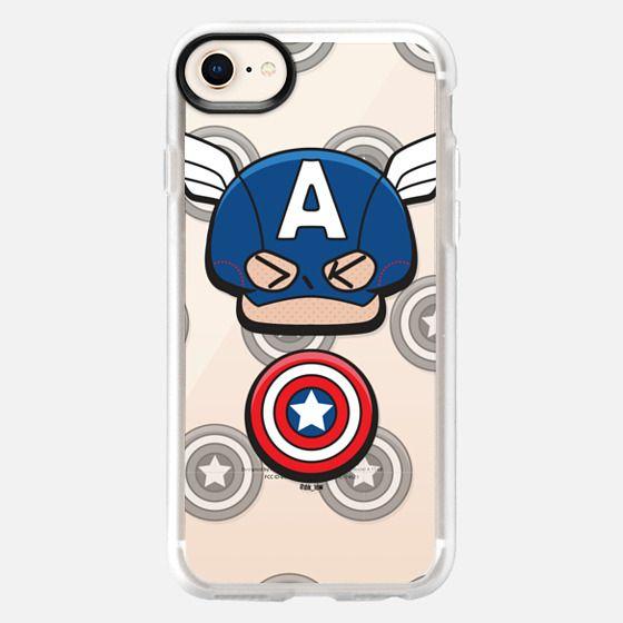 Captain America X DLOW - Snap Case