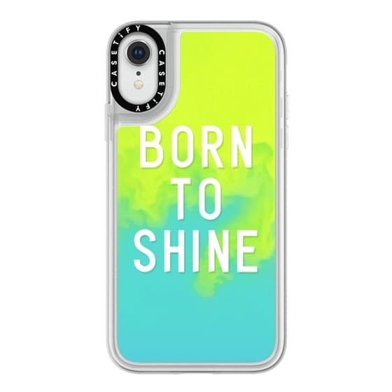 iPhone XR Cases - BORN TO SHINE