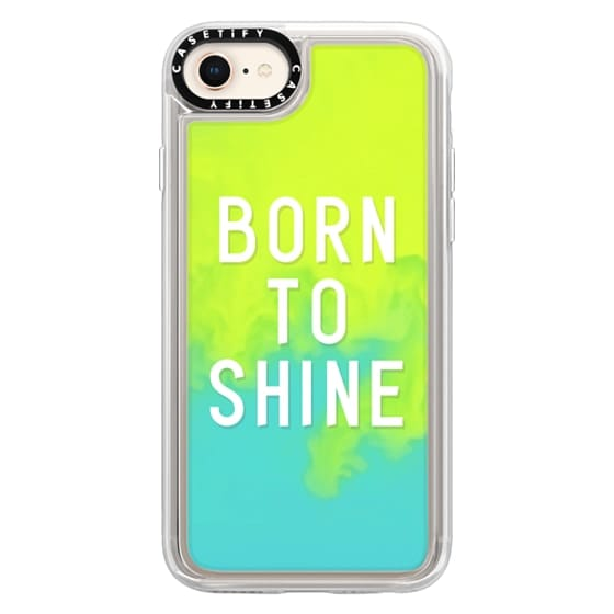 iPhone 8 Cases - BORN TO SHINE