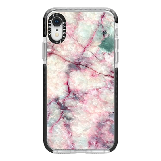 iPhone XR Cases - MARBLE CRYSTALS