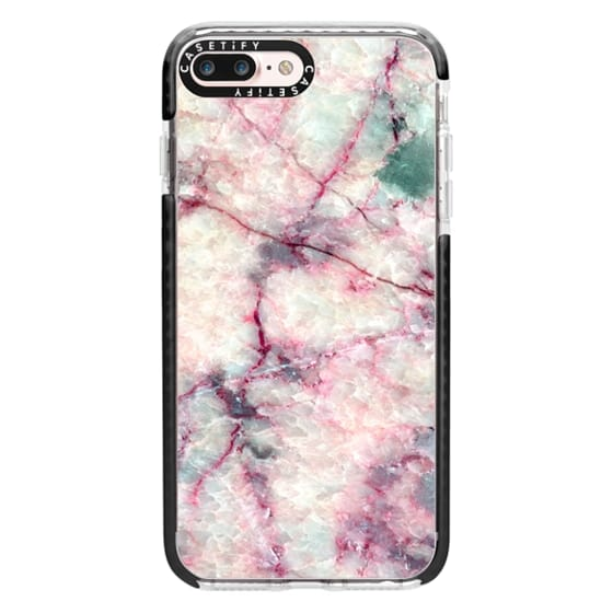 iPhone 7 Plus Cases - MARBLE CRYSTALS