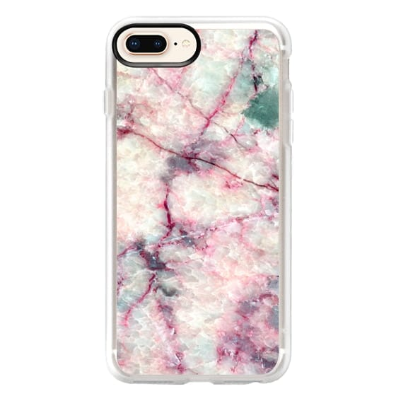 iPhone 8 Plus Cases - MARBLE CRYSTALS