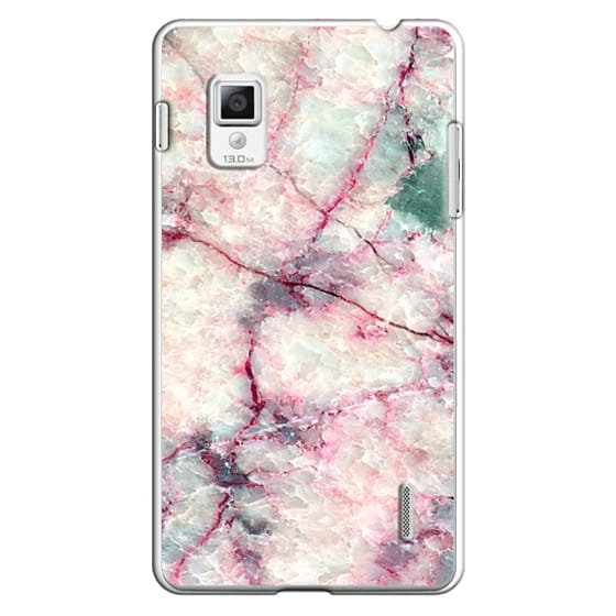 Optimus G Cases - MARBLE CRYSTALS