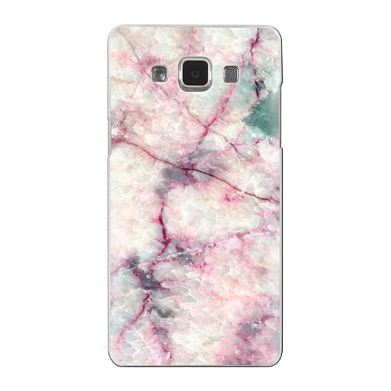 Samsung Galaxy A5 Cases - MARBLE CRYSTALS