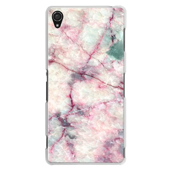 Sony Z3 Cases - MARBLE CRYSTALS