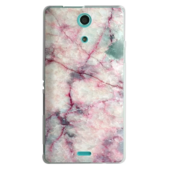Sony Zr Cases - MARBLE CRYSTALS