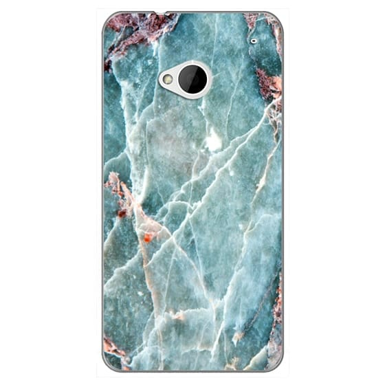 Htc One Cases - OCEANIC BLUE MARBLE