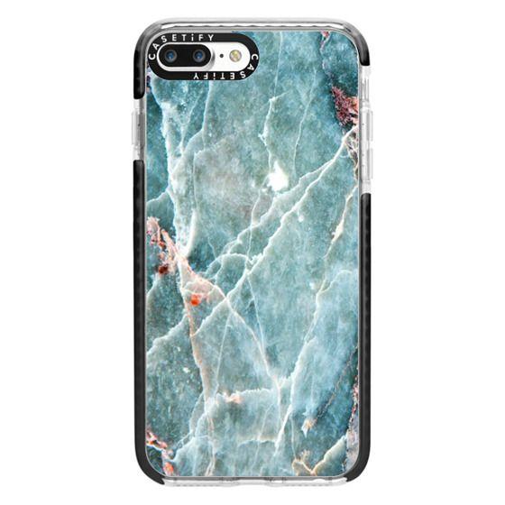 iPhone 7 Plus Cases - OCEANIC BLUE MARBLE