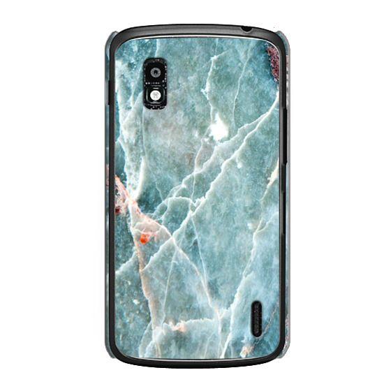 Nexus 4 Cases - OCEANIC BLUE MARBLE