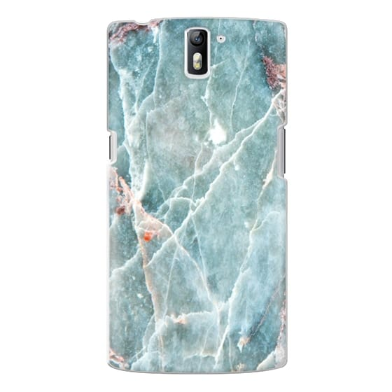 One Plus One Cases - OCEANIC BLUE MARBLE