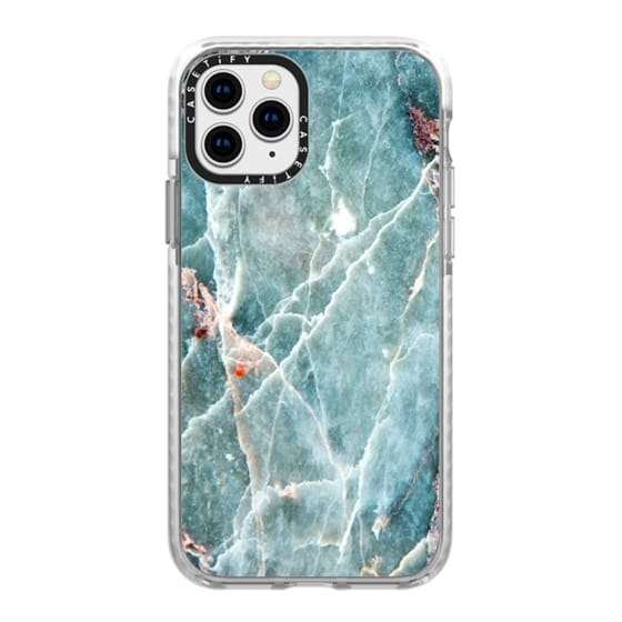 iPhone 11 Pro Cases - OCEANIC BLUE MARBLE