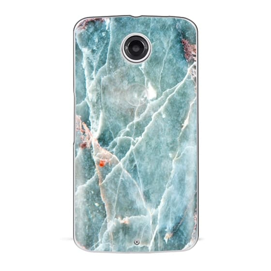 Nexus 6 Cases - OCEANIC BLUE MARBLE