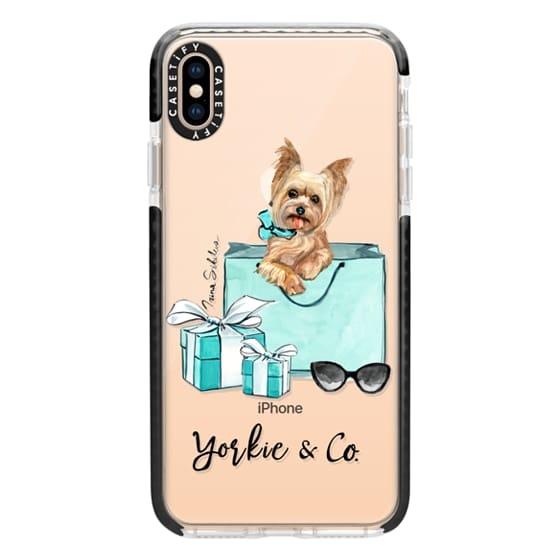 iPhone XS Max Cases - Yorkshire terrier dog Yorkie and Co