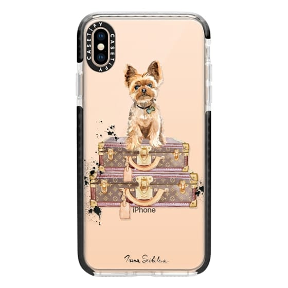 iPhone XS Max Cases - Yorkshire terrier on suitcases vol.1