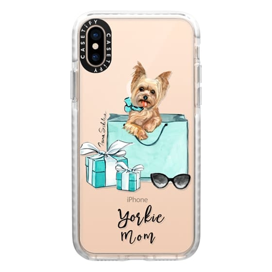iPhone XS Cases - Yorkshire terrier dog Yorkie mom