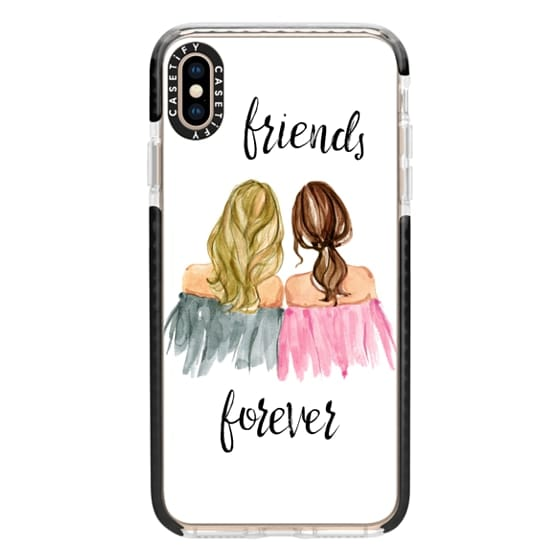 iPhone XS Max Cases - Best Friends Phone Case